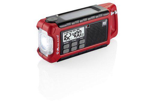 Midland Er210 Emergencia Radio Fm Linterna Led Cargador Usb