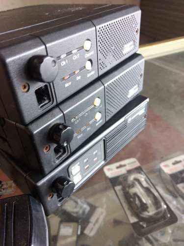 Motorola Dos Canales Uhf Y Vhf 45 Watts M120 Y M100