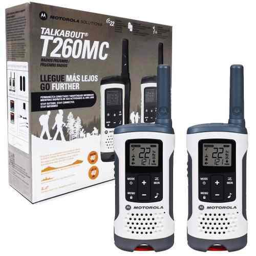 Motorola T260 Equipos De Radiofrecuencia 40km Gmrs 22ch