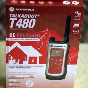 Motorola T480 Talkabout Radio Fm Impermeable 56km Nuevo!