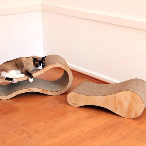 Mueble Rascador Para Gatos Combo Raketa (2 Pzas)