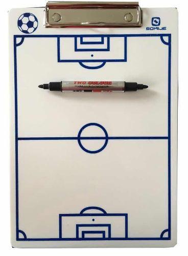 Paq. 5 Tablas Tacticas Deportiva Futbol + Marcador Gratis