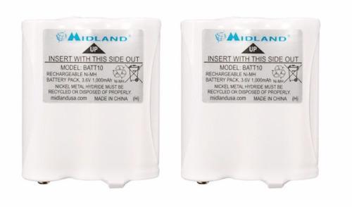 Paquete Baterías Recargables Midland Avp13 Batt10r T71vp3
