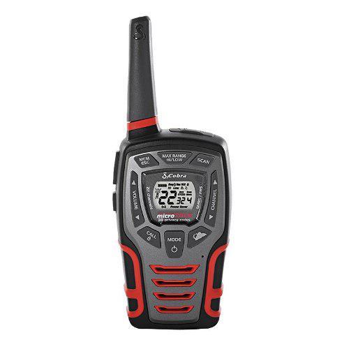 Par De Radios Acxt545 Cobra Linterna Led 28 Millas