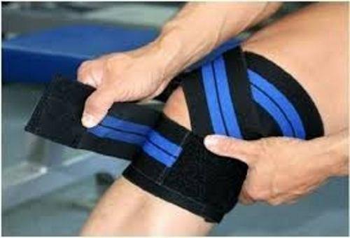 Par De Vendas Elasticas Para Rodilla 200 Cm Power Gym Pesas