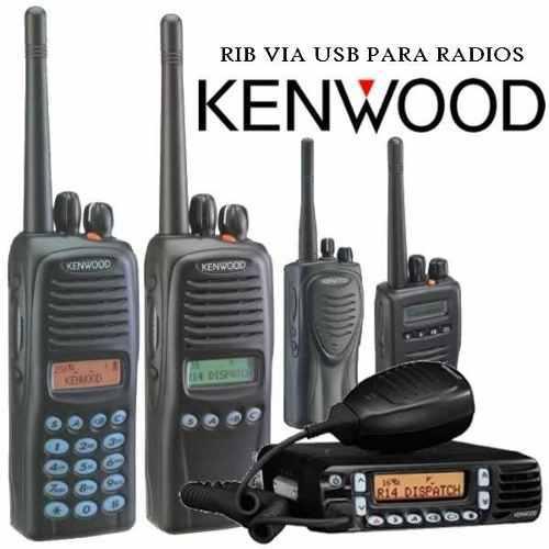 Programador De Radios Kenwood Usb+software Kenwood
