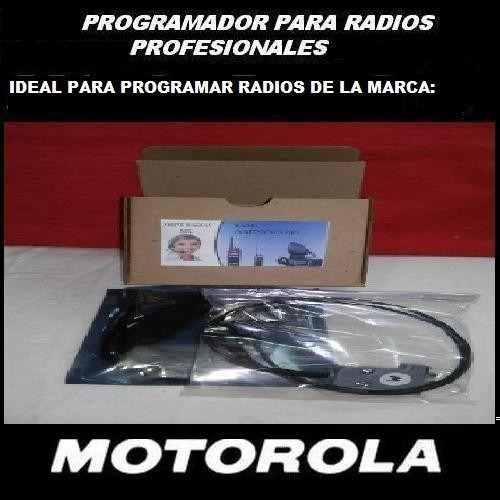 Programador De Radios Motorola Usb Win-xp A Win-8+sofware