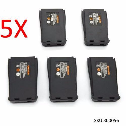 Promocion 5 Baterias Para Radio Baofeng Bf888s