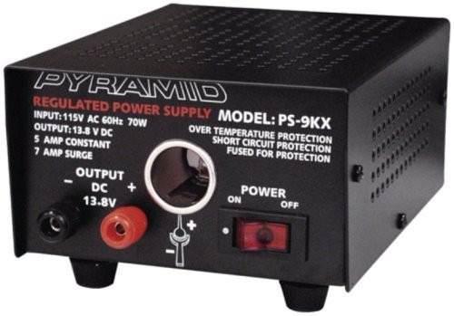 Pyramid Fuente De Poder De 10 Amperes Ps12kx Para Radios Cb