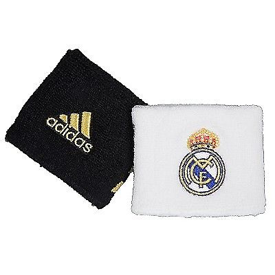 REAL MADRID MUÑEQUERAS ADIDAS UEFA CHAMPIONS LEAGUE FUTBOL