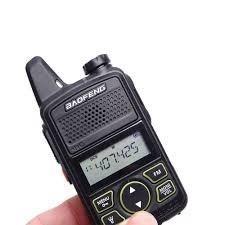 Radio Baofeng Mini 16 Canales Recargable Walkie Talkie
