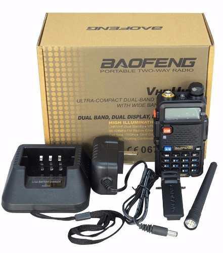 Radio Baofeng Uv-5r Dual Banda Uhf Vhf 5 Watt