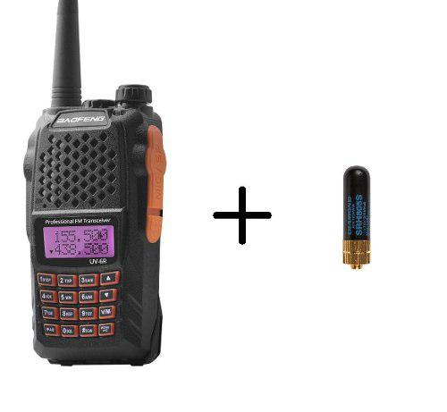 Radio Baofeng Uv-6r Vhf/uhf Doble Banda + Mini Antena