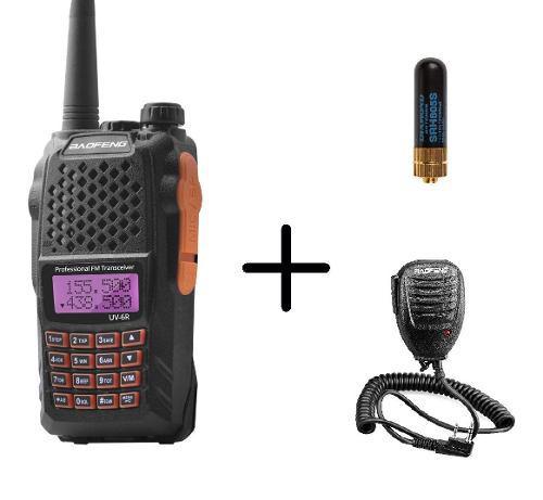 Radio Baofeng Uv-6r Vhf/uhf Dual Banda + Micro + Mini Antena