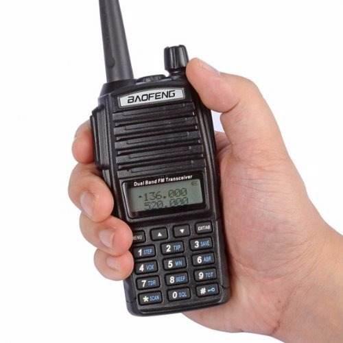 Radio Baofeng Uv-82 L Vhf/uhf Con Pila De 2800 Mah