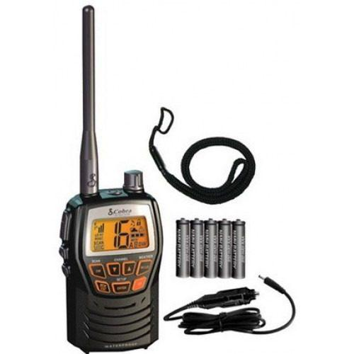 Radio Cobra Vhf Marino Portatil Hh125 Robusto Y Compacto