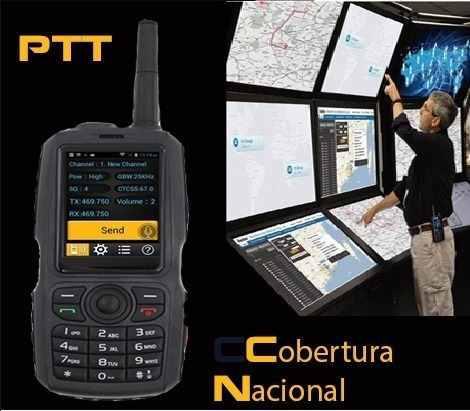 Radio Global Tipo Nextel 3g Cobertura Nacional Gps Telefono