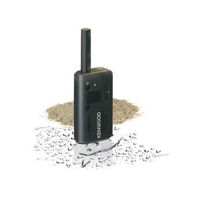 Radio Kenwood Pkt 03 Radio, Ultra Compacto Y Ligero Ptt