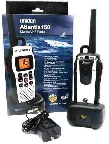 Radio Marino Vhf Uniden Atlantis 150 Portátil - No Cobra