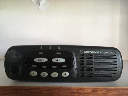Radio Mobil Motorola Pro3100 Vhf 4 Canales 45 Whats