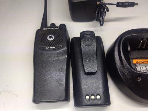 Radio Motorola Ep450 Uhf Completo Y Original