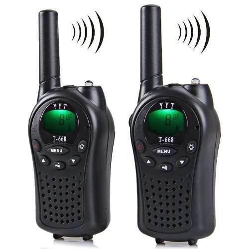 Radio Profesional Pantalla Lcd 8 Canal Walkie Talkie T -668