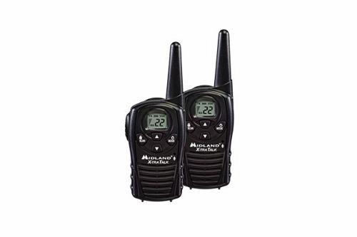 Radio Walkie Talkie 118 Midland 2 Vias 18 Millas Recargable