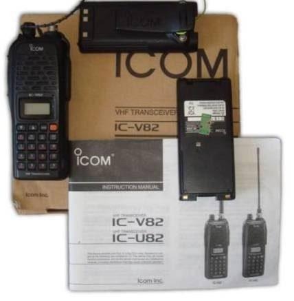 Radiocomunicacion Icom Modelo V 82 Vhf 7 Watts