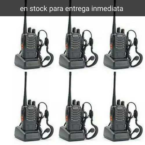 Radios Baofeng Modelo 888s Pack De 6