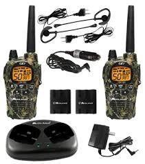 Radios Midland Camo 36 Millas Gxt1050vp4 Kit Con Accesorios