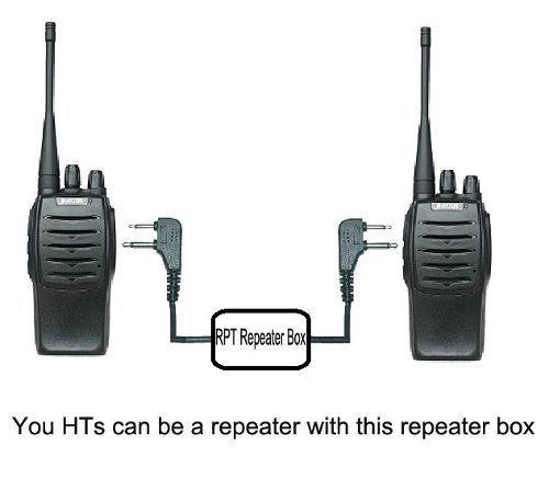 Repetidora Repetidor Vhf Uhf Cable Para Bf 888s Uv5r Uv9r