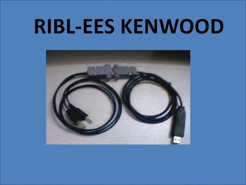 Rib Para Radios Kenwood Via Usb Win-xp A Win-8+software Ken