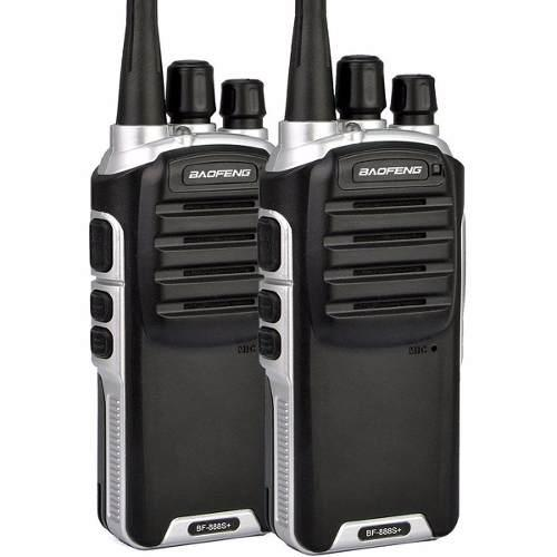 Set 2 Radios Baofeng Bf-888s Plus Walkie Talkie 2 Vías Uhf