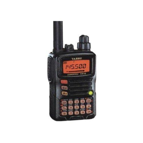 Triple Banda Yaesu Vx-6r Sumergible Amateur Equipo De Radio