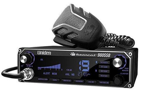 Uniden Bearcat Radio Cb Con Banda Lateral Y Weatherband (980