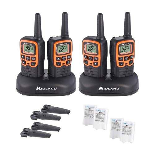 Walkie Talkie Radios De Dos Vías Midland T51vp3 Plus