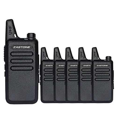 Zastone X6 Walkie Talkie Uhf 400-470 Mhz Mini-portátil De