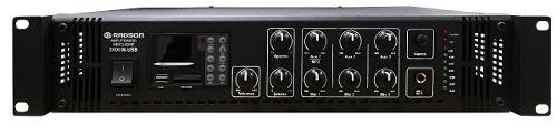 m 350w Rms Amplificador Alta Potencia Para Publicidad