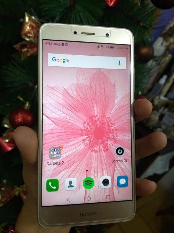 Huawei GW Metal dorado 32GB libre pero es telcel nacional,