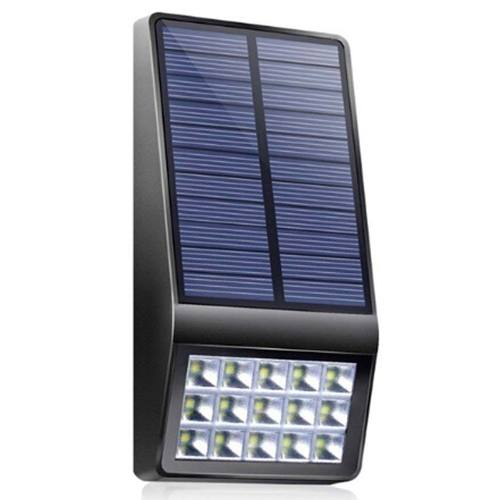 Lampara 15 Led Inducción Luz Solar Exterior Sensor