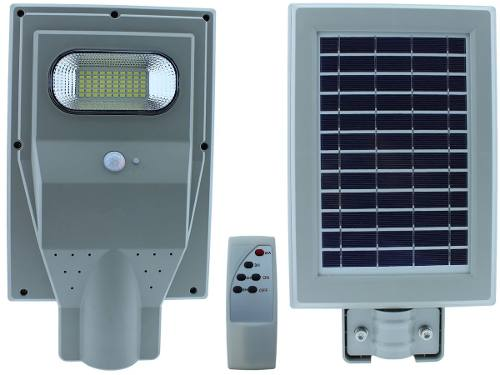 Lampara Led 30w Panel Solar Alumbrado Publico Envio Gratis