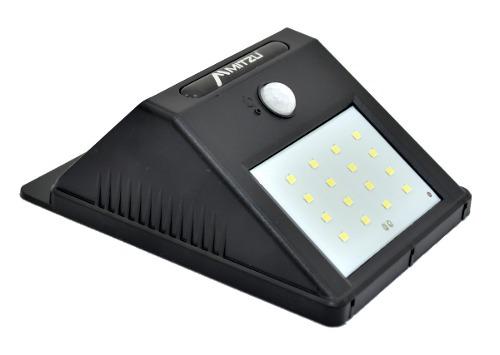 Lampara Led Solar Recargable Con Sensor De Movimiento Ip65