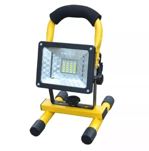 Lampara Reflector Portátil 20 Leds 30w Recargable + Torreta