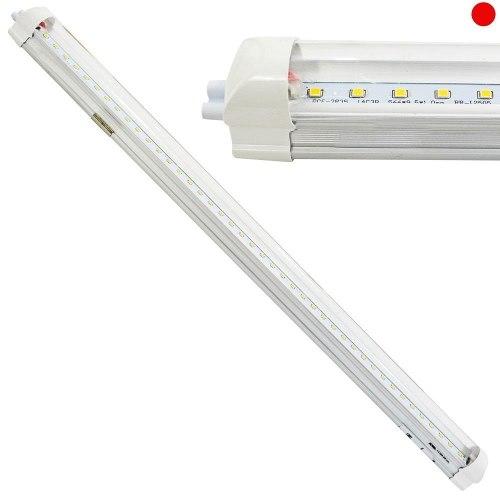 Luminario Led Tubo  Conexión Lineal 21w Luz Blanca Adir