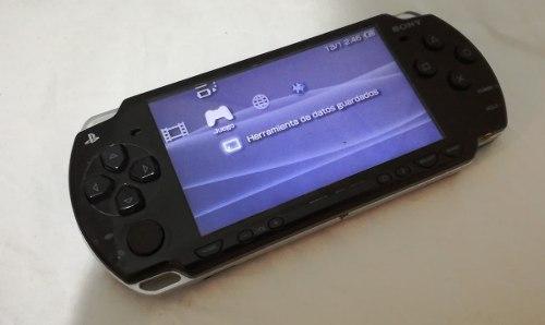 Psp Slim Negro Modelo gb Mas 200 Juegos Sony Ofer