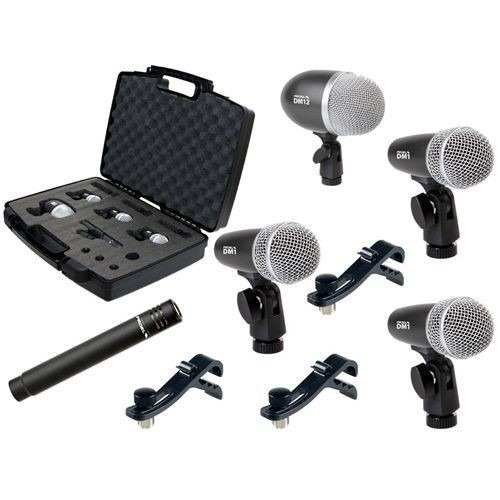 Set De Microfonos Proel P/bateria Dmh5xl Confirmar Existenc