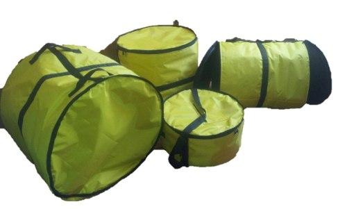 Set Fundas Bateria Gsh  Tarola 14 Bombo 22 Foamy 1/2