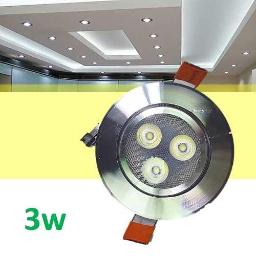 Spot Led 3w Foco Dirigible Plafon Luces Casa Tipo Panel