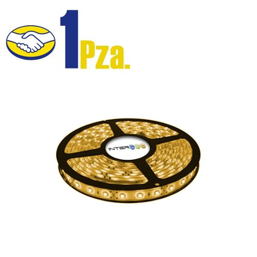 Tira Led Sin Eliminador 5mts  Calido Ip65 1 Pieza