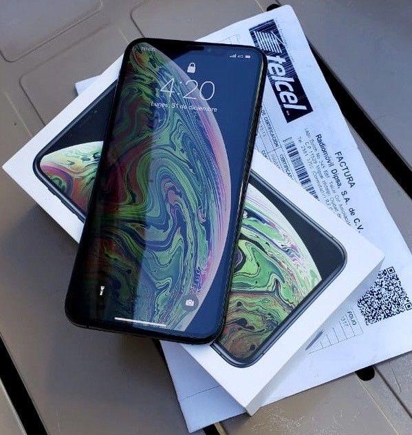 iPhone XS Max 64 GB NUEVO DE CAJA FACTURA TELCEL GARANTÍA